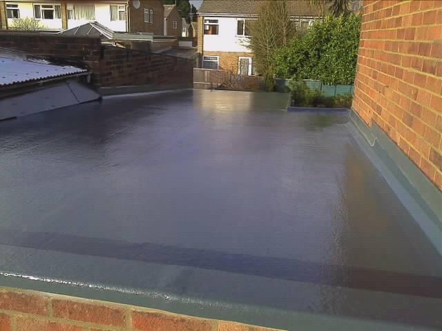 GRP Fiberglass Garage Roof
